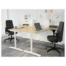 bekant corner desk right black brown black ikea