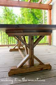 pottery barn patio furniture ana white diy pottery barn inspired table diy projects