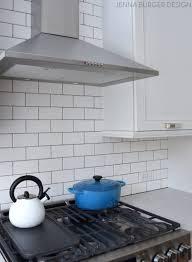 kitchen kitchen subway tile backsplash we chose shiny white gray