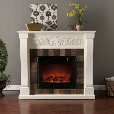 fireplace stone surround modern interior home design with white