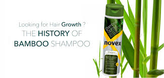 hair growth shampoo the history of bamboo shampoo novex hair care