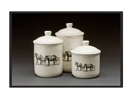 Kitchen Canisters Canada Bernie Brown Canister Set Irvines Saddles U0026 Western Wear