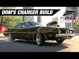 how to build a dodge charger dominic toretto s dodge charger build forza horizon 3