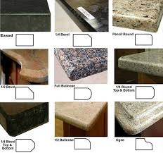 granite countertop sink options edge options atm granite marble information pinterest