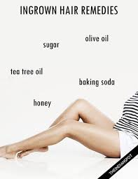 how to remove ingrown hair in thigh home remedies for ingrown hair that really work natural beauty