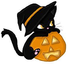 halloween cat clipart many interesting cliparts