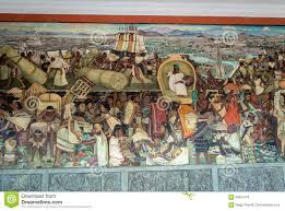 El Mural by El Pasillo Del Palacio Nacional Con El Mural Famoso El