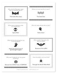 printable halloween joke notes version 3 u2014 all for the boys