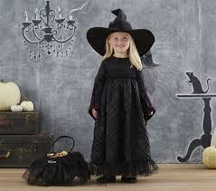 Witch Halloween Costumes Girls Black Witch Costume Pottery Barn Kids