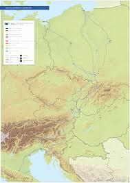 Ireland Rail Map Trans European Transport Network Tentec Maps European Commission