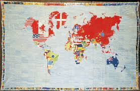 Map Of The World Art by Alighiero Boetti Archives Public Delivery