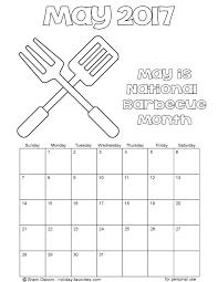 printable may calendars holiday favorites
