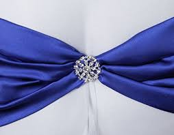 white and blue ribbon cool88 wedding ceremony white satin ring bearer pillow cushion