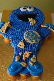 cookie monster baby shower 375 best sesame street cakes images on pinterest sesame street