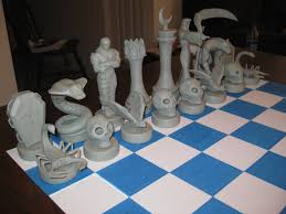 Ancient Chess Set More Chess Art Chess Com