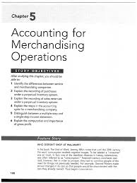 ch5 accounting for merchandising operations pdf