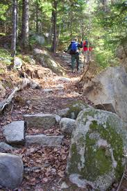Baxter State Park Map by 1 Minute Hike Barnard Mountain Near Millinocket Act Out With