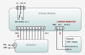 8 channel relay board code