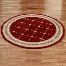 Floral Round Rugs Rugs Round Inviting Home Design