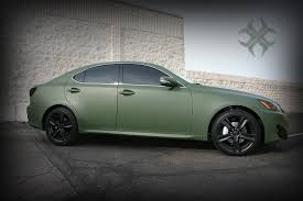 lexus green custom wrapped matte green lexus custom car wraps