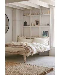 Bohemian Bed Frame New Savings On Bohemian Platform Bed White