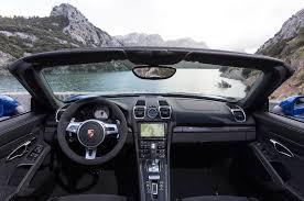 Porsche Boxster Non Convertible - 2015 porsche boxster reviews and rating motor trend