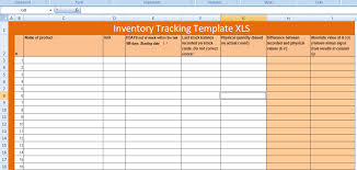 Excel Templates For Tracking Free Excel Inventory Tracking Template Xls Free Excel