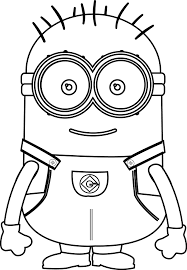 Small Cute Minions Coloring Page Wecoloringpage Small Coloring Pages