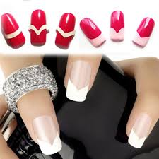 online shop 18pc set random type fashion diy french manicure