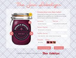 jam preserve jar labels custom designs jam labelizer