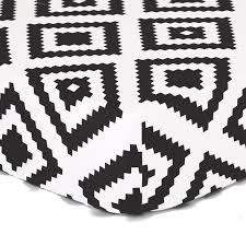 Black And White Crib Bedding Set The Peanut Shell Deco 4 Crib Bedding Set Reviews