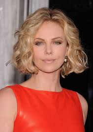 haircuts and hairstyles for curly hair celebrity short hairstyle for round faces charlize theron haircut