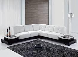 sofa l shape modern leather l shaped sofa centerfieldbar