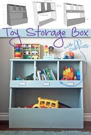 How To Make A Easy Toy Box by Top 25 Best Kids Toy Boxes Ideas On Pinterest Playroom Storage