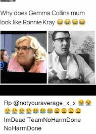 Gemma Collins Memes - why does gemma collins mum look like ronnie kray rp