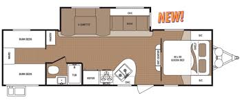 bunk bed rv floor plans new or used travel trailer campers for sale rvs near rv world of