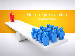 one vs all powerpoint template u0026 backgrounds id 0000001300