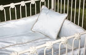 lulla smith baby bedding whitby linen set dupioni silk
