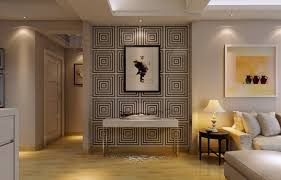 interior korean bedroom interior design with wall art decoration