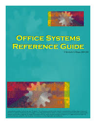 office systems reference guide u2013 assistants for chiropractic
