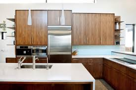 natural walnut cabinets houzz