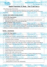 year 5 6 english national curriculum objectives teach my kids