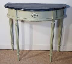 Half Moon Side Table 8 Best Repainted Half Moon Tables Images On Pinterest Half Moon