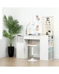 counter height craft table deals on south shore furniture crea pure white counter height