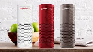 campbell s kitchen for amazon echo innovation by desig co design