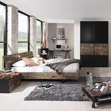 Schlafzimmer Vintage Braun Futonbett Sumatra 140 X 200cm Home24