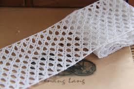 wide lace ribbon online shop 6cm lace ribbon white decorative cotton trim torchon