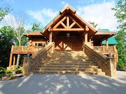 wilderness lodge luxury log cabin gatlinb vrbo