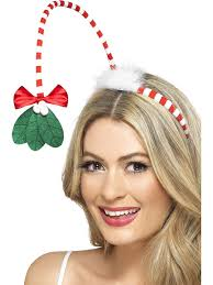 mistletoe headband mistletoe headband partyworld
