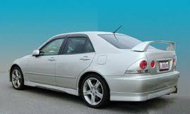 lexus is300 trd 2000 2004 lexus is300 trd rear lip sinex kits
